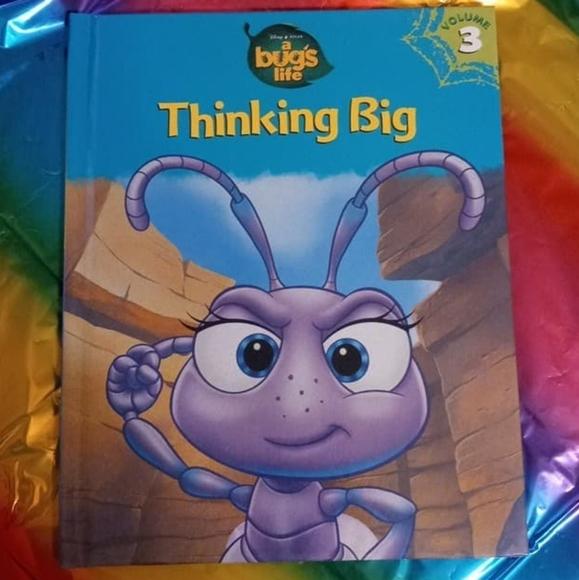 A Bug's Life Book Lot - Disney Pixar - 2 Books